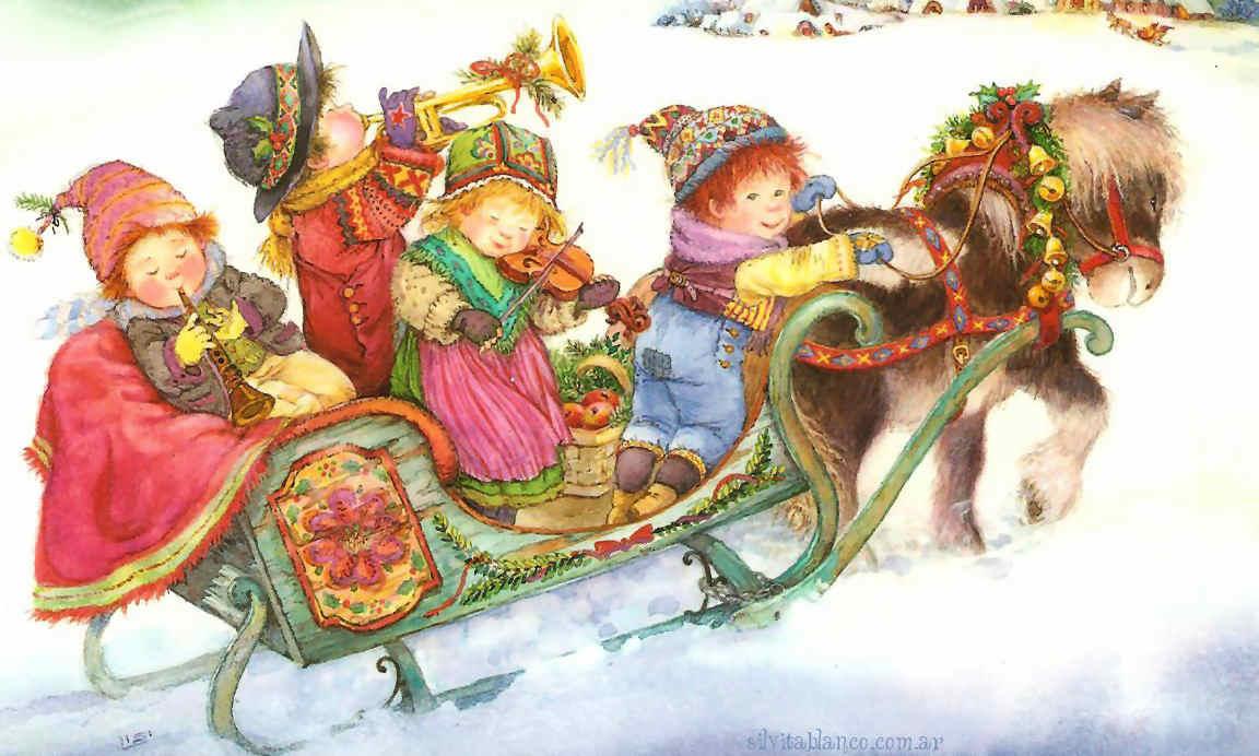 ni�os en navidad Lisi Martin