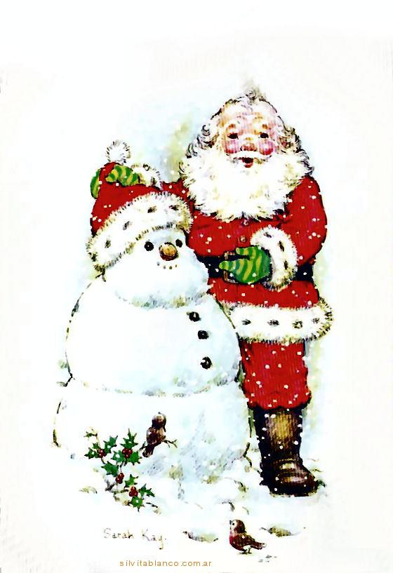 Sarah Kay Santa Claus Celebración de Navidad