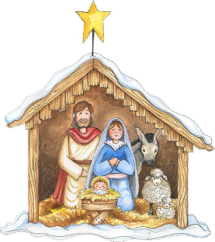 clipart nacimiento jesus - photo #27