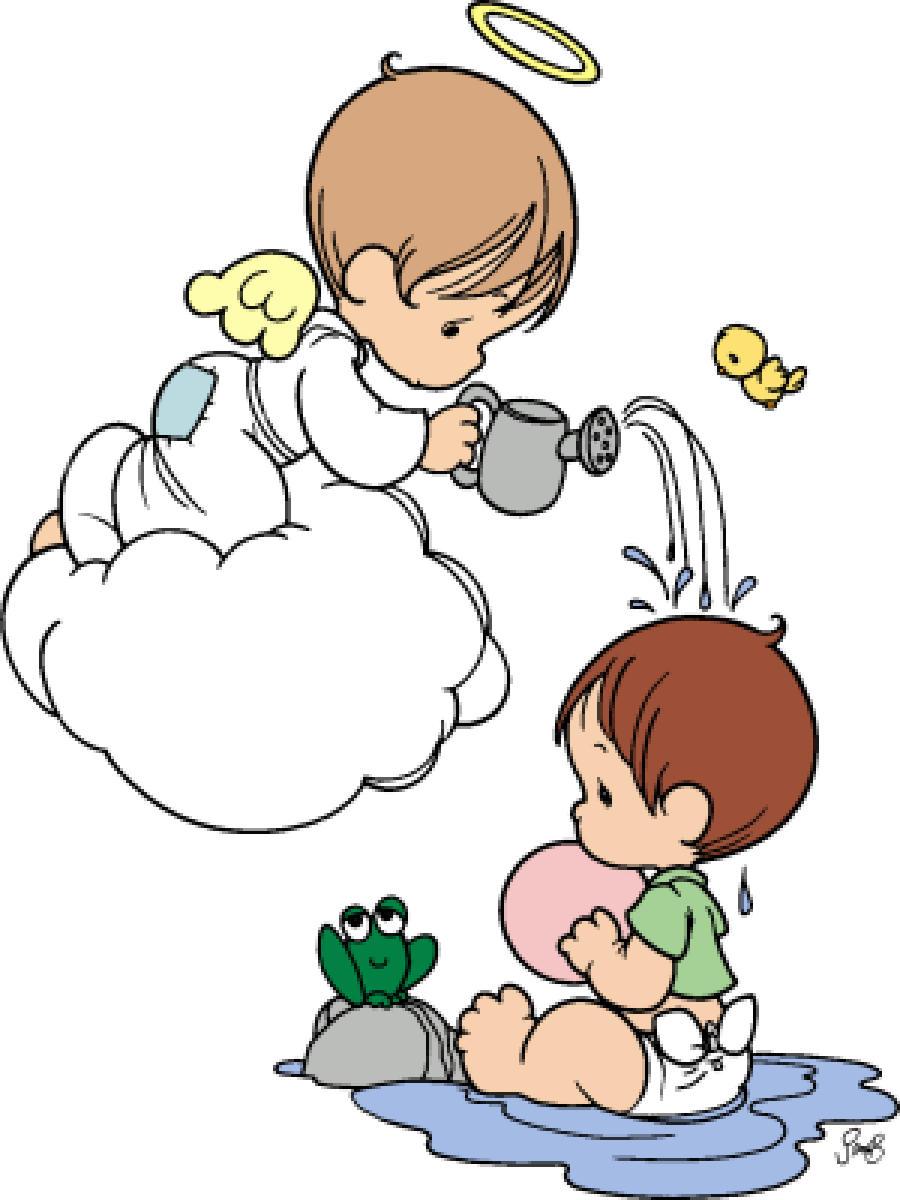 Bautizo Precious Moments niño - Imagui