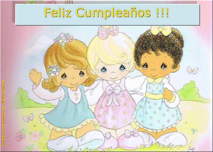 Tarjeta de cumpleaños de preciosos momentos - Imagui
