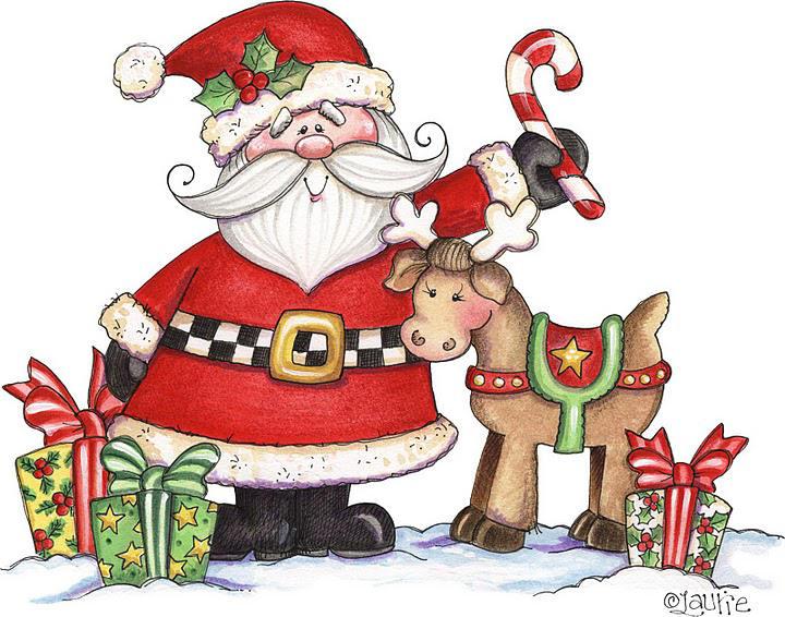 Renos - Dibujos de navidad en color ...