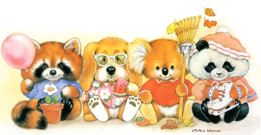 morehead ruth critter sitters animals silvitablanco ar cartoon cute critters