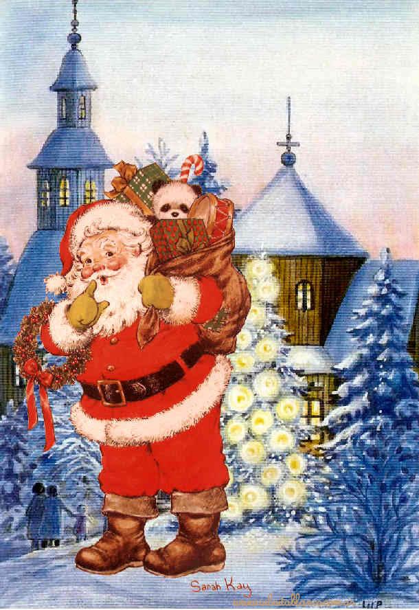 Sarah kay navidad - Dibujos de postales de navidad ...