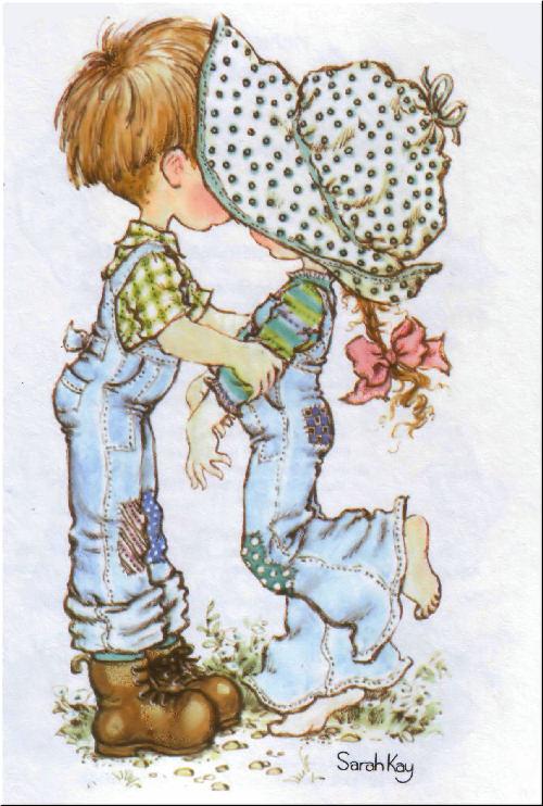 SARAH KAY DÍA DE SAN VALENTÍN Amor y Amistad tarjetas postales