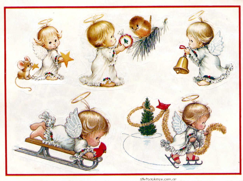 Stickers libro navide o completo ruth morehead vintage - Munecos de navidad ...