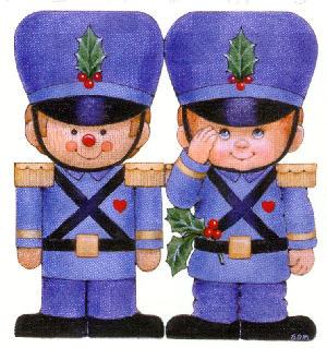 soldaditos navideños