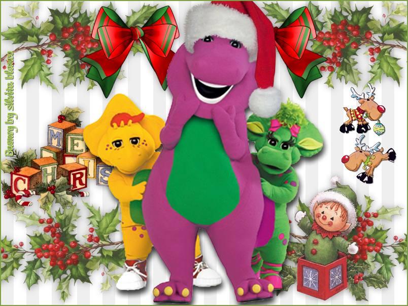 Barney Dinosaurio Navidad