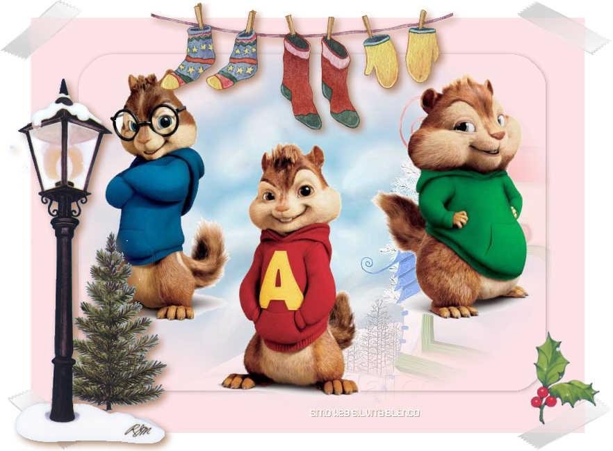 Alvin the Chipmunks christmas song