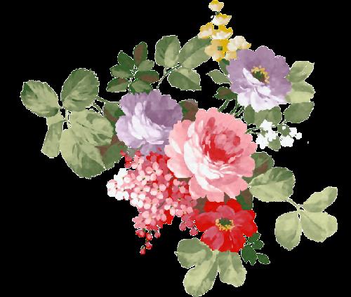 Scrap flores vintage arte para decoraci n ilustraciones for Disenos de cenefas