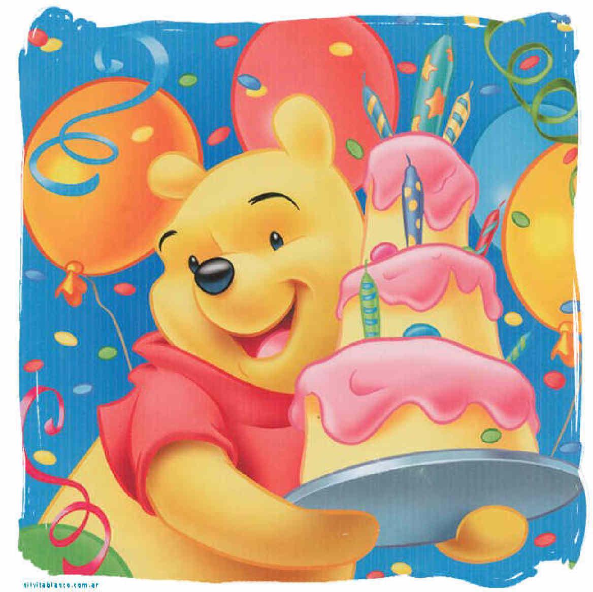 Winnie Pooh para armar y regalar | Feliz Cumpleaños | Tarjetas de ...