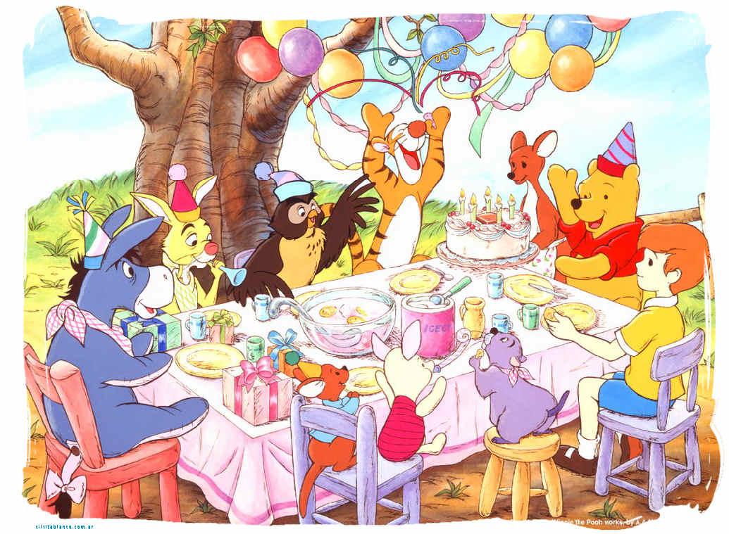 Tarjetas de cumpleaños de winnie de pooh gratis - Imagui