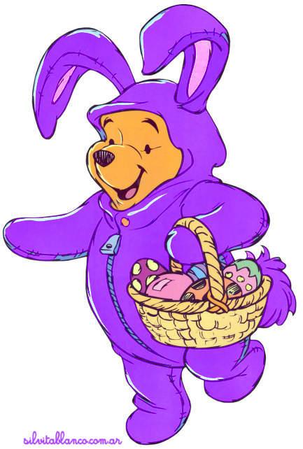 Winnie Pooh y sus Amigos Pascuas