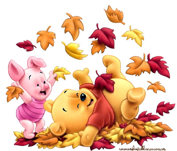 free thanksgiving for pooh and piglet phone wallpaper by