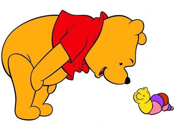 Dibujos Bonitos De Colores: Winnie Pooh